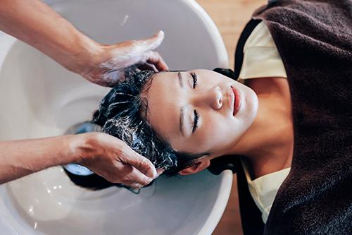 抗酸化力をもつ美容水を使用